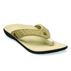 WOMEN'S YUMI SANDAL -  KHAKI GOLD CANVAS 39-546 (close out)