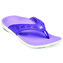 WOMEN'S BREEZE VARSITY PURPLE SANDAL 39-837