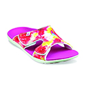 WOMEN'S ENGLISH BOUQUET PINK SLIDE 39-906 (close out)