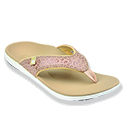 WOMEN'S CHEETAH TAN SANDAL 39-926 (close out)