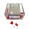 ITALIAN SINGLE LAYER RED DOWEL LIFT [STANDARD]
