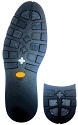 Vibram #006 Arctic Grip Black  (1219)